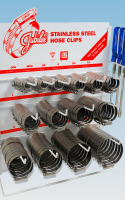Jubilee® Stainless Steel Large Clip Dispenser