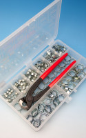 Jubilee® Stainless Steel 'O' Clip Kit with Tool