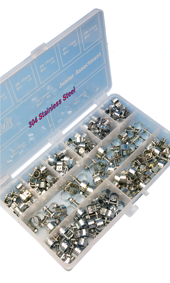 Jubilee® 304 Stainless Steel Junior Assortment