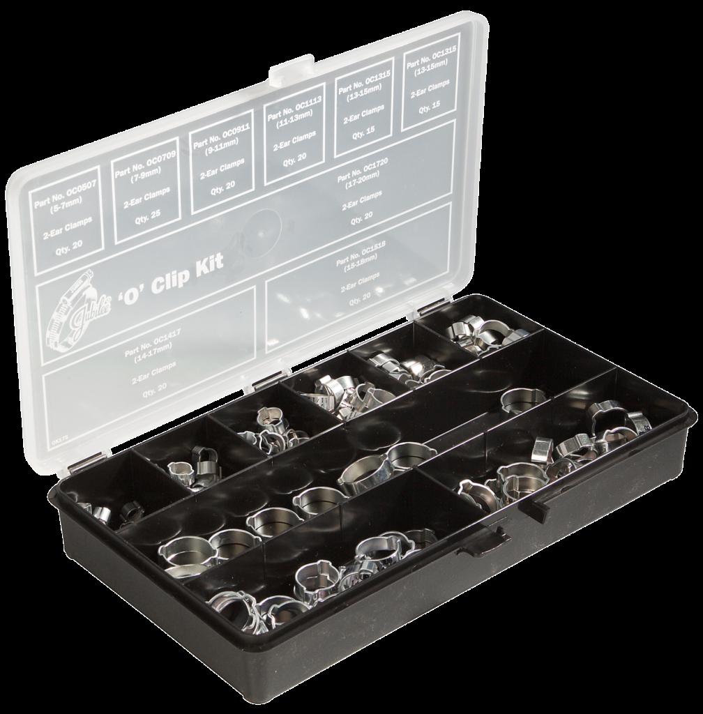 Jubilee® Mild Steel 'O' Clip Kit