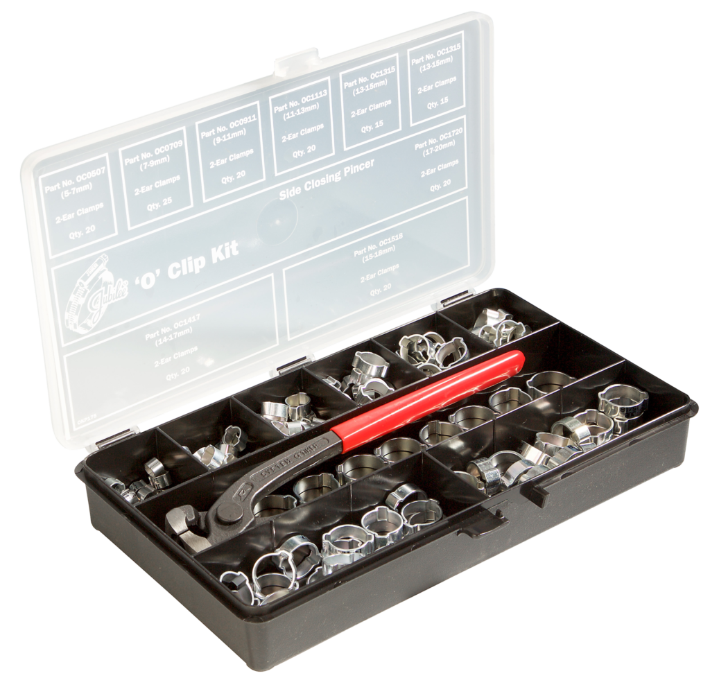Jubilee® Mild Steel 'O' Clip Kit with Tool