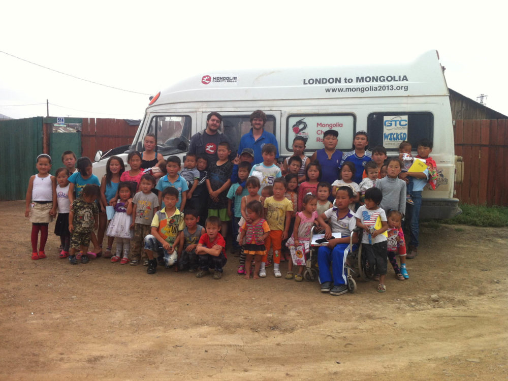 Charity champions make it to Mongolia with help from Jubilee® Clips