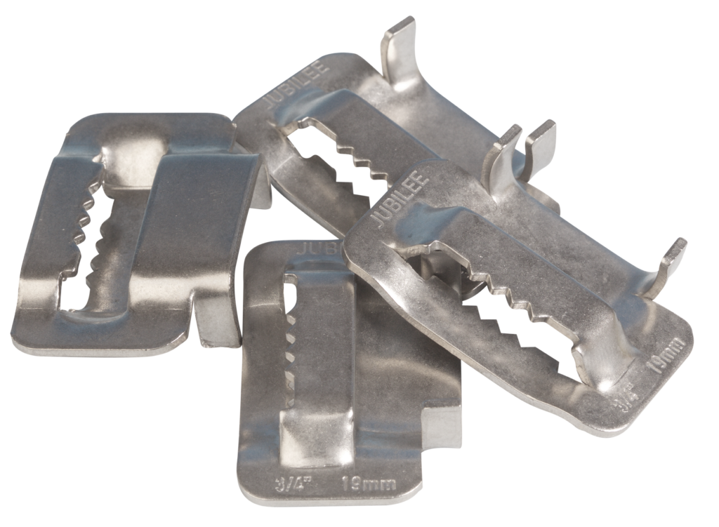 View Jubilee 19mm Flexiband 304 Stainless Steel Buckles