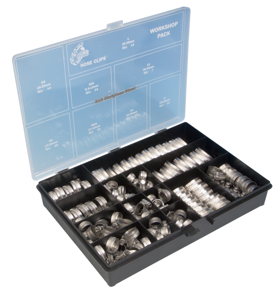 Jubilee® 316 Stainless Steel Workshop Pack