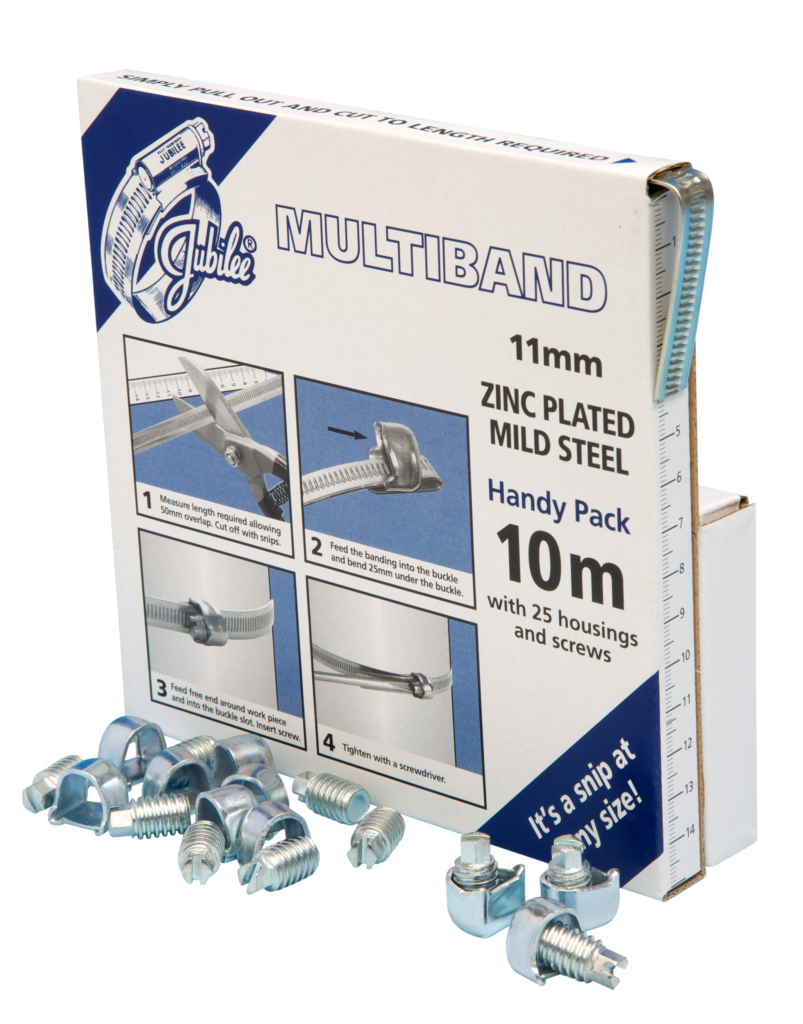 View Jubilee Multiband Mild Steel 11mm Handy Pack