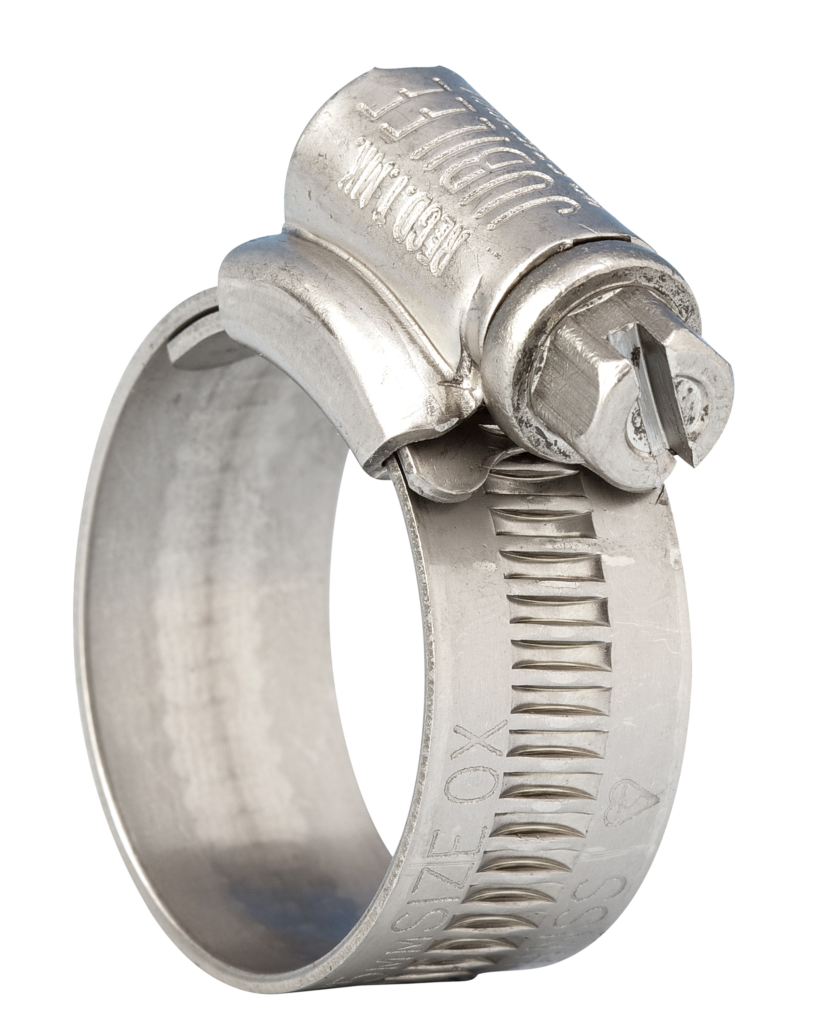 Jubilee<sup><sup>®</sup></sup> Clip 1A 316 Stainless Steel 22-30mm