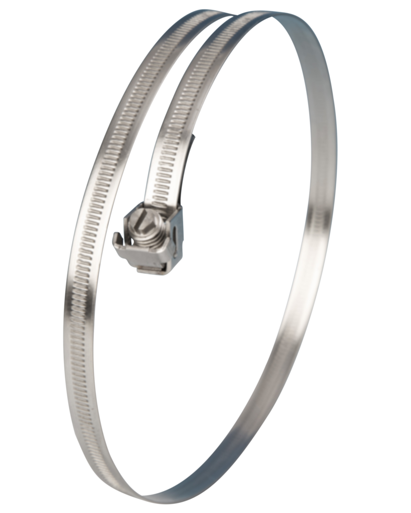 View Jubilee<sup>®</sup> Captive Strap Stainless Steel 175mm