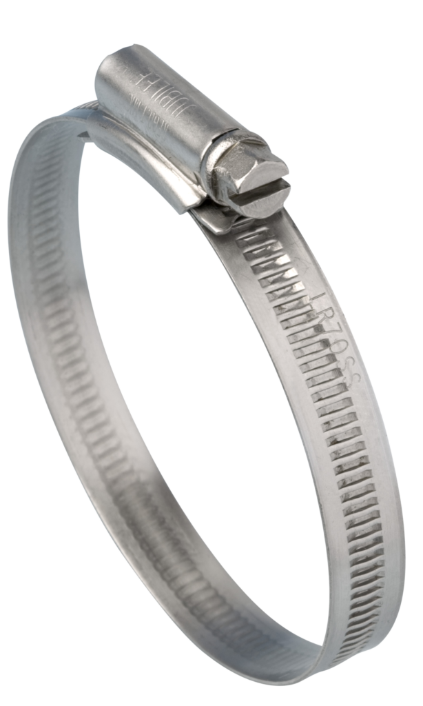 Jubilee<sup><sup>®</sup></sup> Light Range Clip Stainless Steel 12-22mm